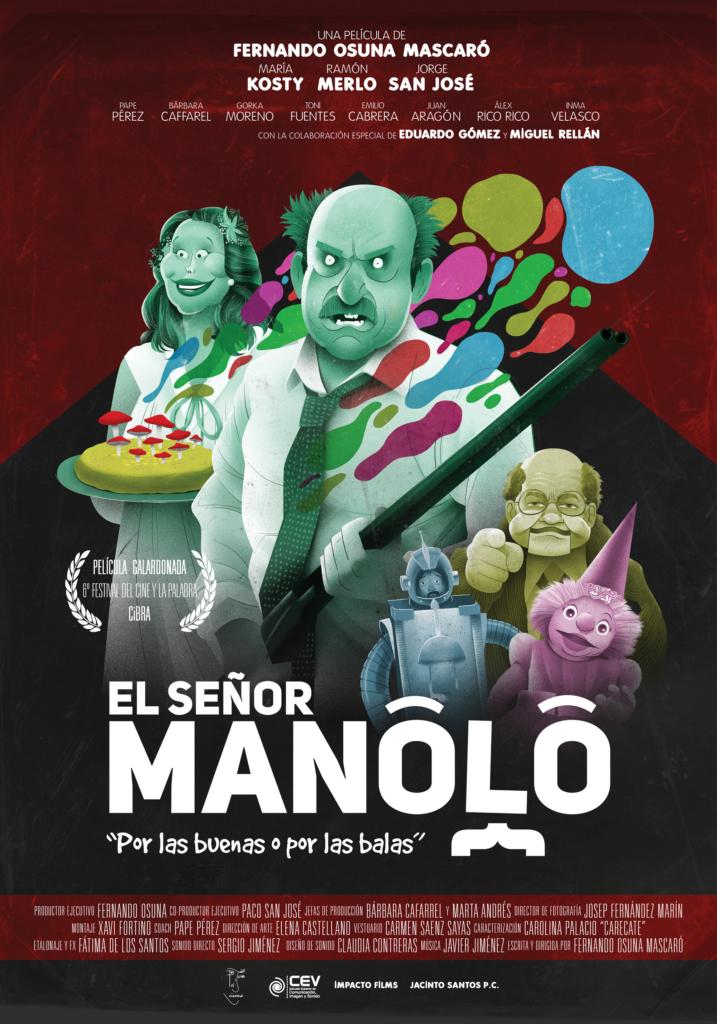 SEÑOR MANOLO PREMIOS LORCA 2020