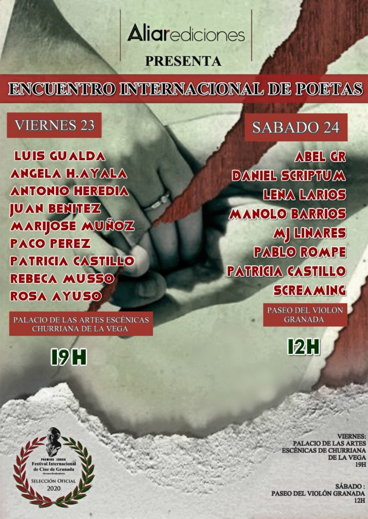 encuentro de poetas festival de cine de granada premios lorca 2020