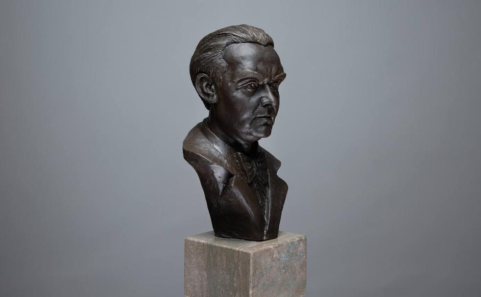 Estatuillas de Lorca que se entregarán en los premios del Festival de Cine de Granada